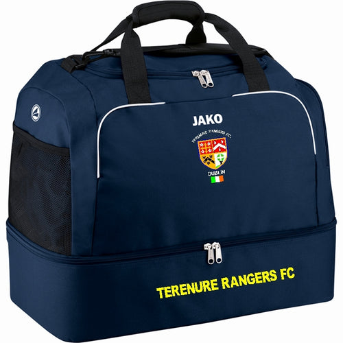 TERENURE RANGERS JAKO SPORTS BAG WITH BASE TR2050 NAVY