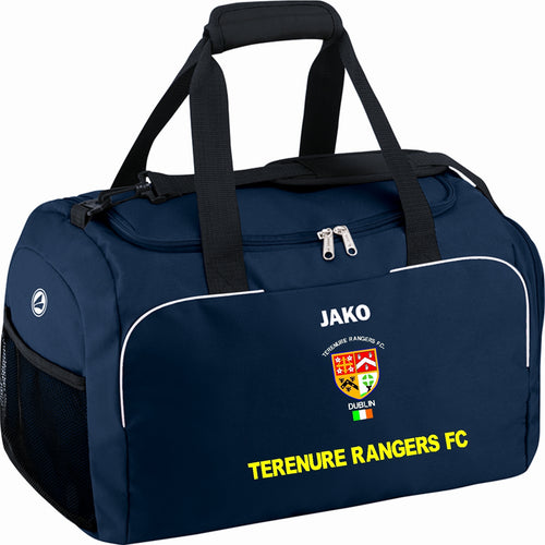TERENURE RANGERS JAKO SPORTS BAG WITH SIDES TR1950 NAVY