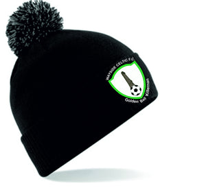 JAKO WAYSIDE CELTIC BOBBLE HAT WCBC450 BLACK