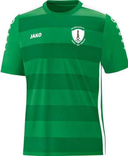 ADULT JAKO WAYISE CELTIC HOME REPLICA JERSEY WC4205 GREEN