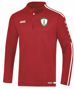 KIDS JAKO WAYSIDE CELTIC ZIP TOP WC8619K RED