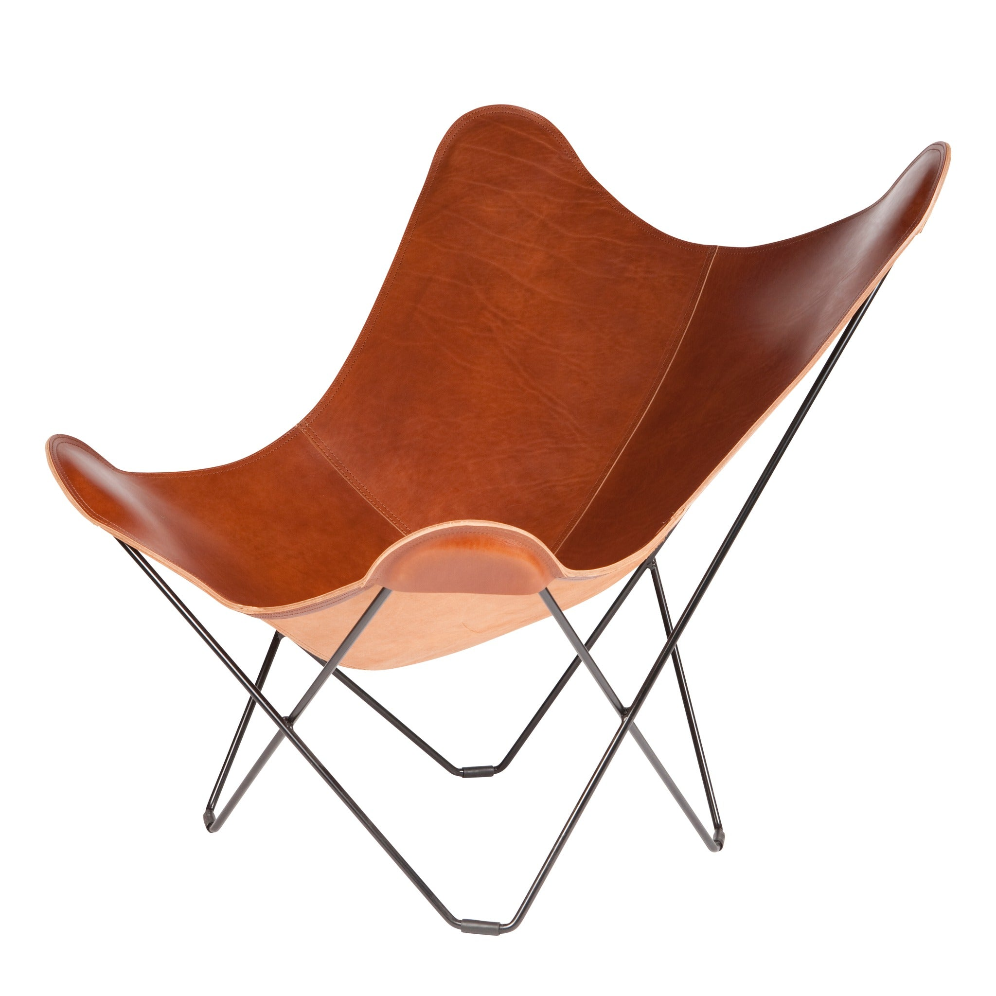 Mariposa Butterfly Leather Chair by Cuero - haus®