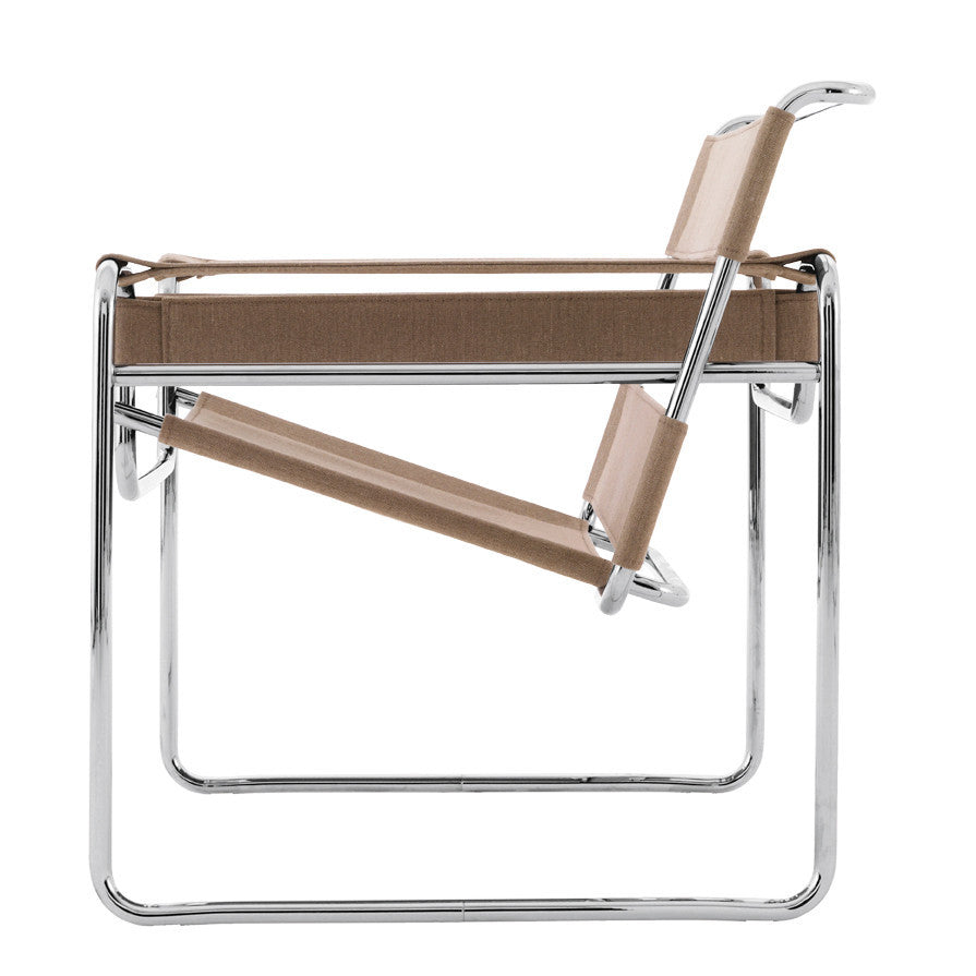 haus wassily lounge chair canvas by marcel breuer. Black Bedroom Furniture Sets. Home Design Ideas