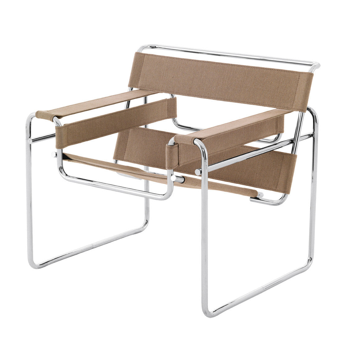 Haus Wassily Lounge Chair Canvas By Marcel Breuer