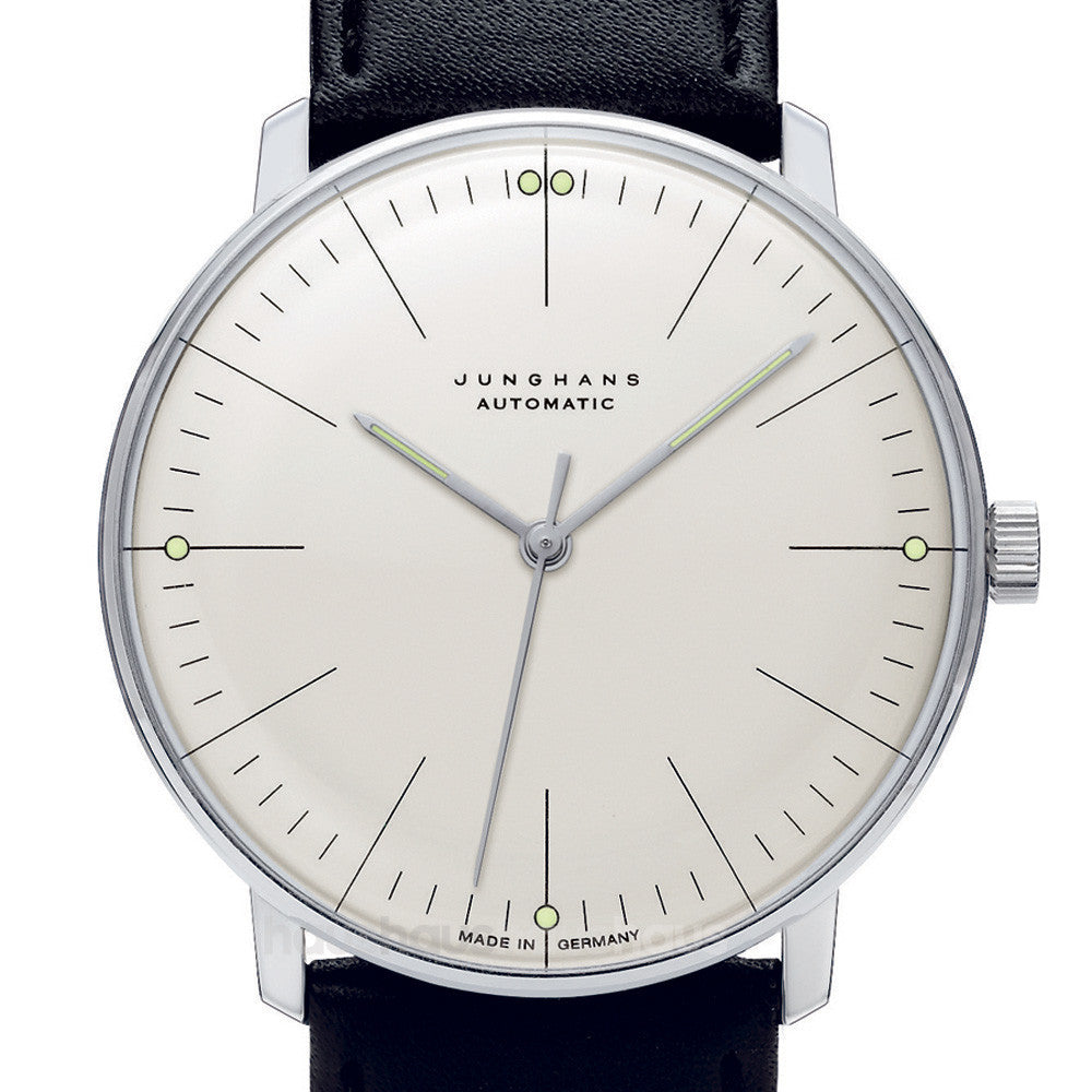 Max bill 027350100 automatic watch by junghans haus max bill 027350100 automatic watch amipublicfo Images
