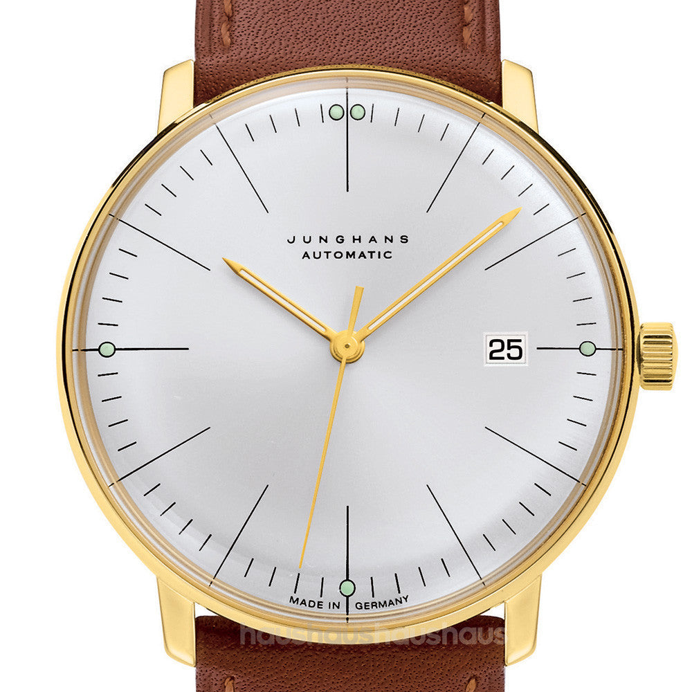 Max bill 027770000 automatic watch by junghans haus amipublicfo Images