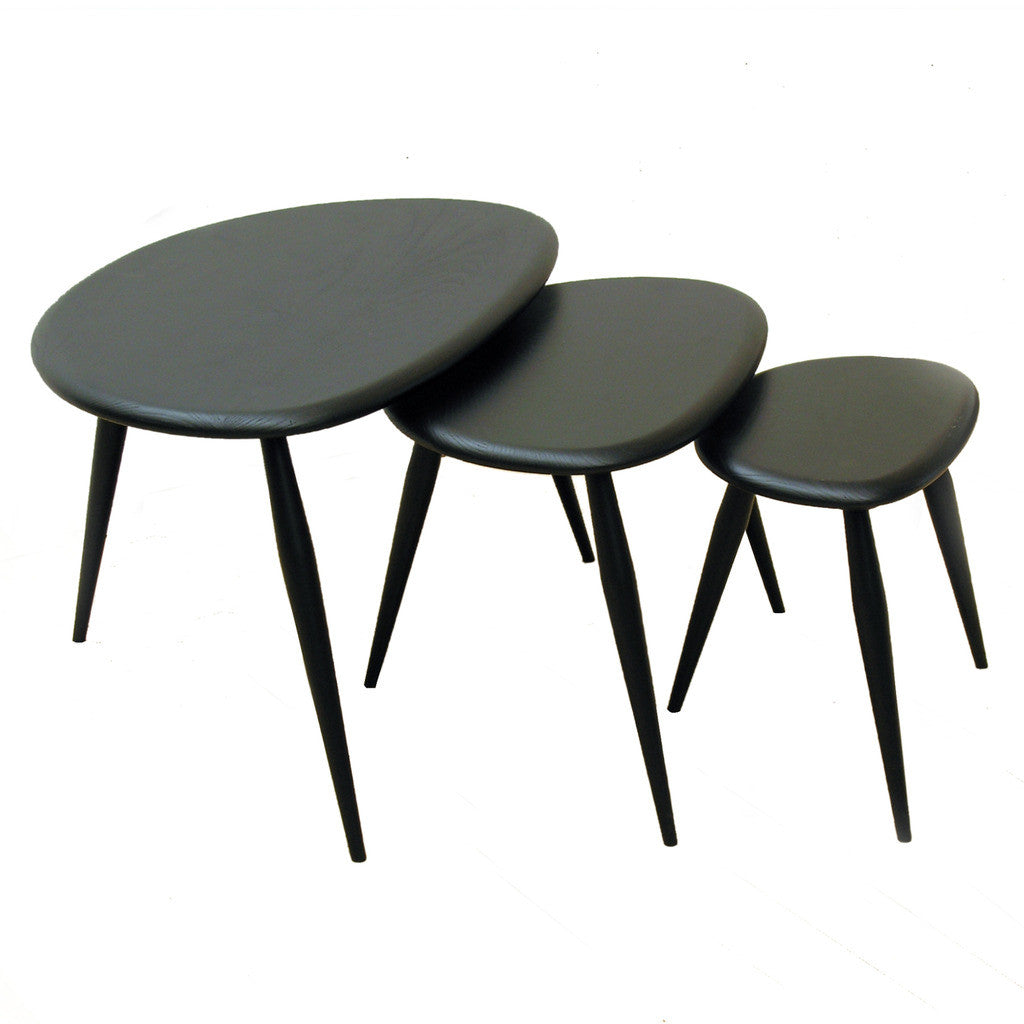 Originals Nest Of Three Pebble Tables By Ercol U2014 Haus®