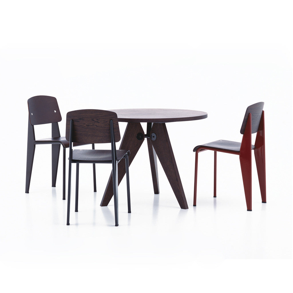 haus gueridon table by jean prouve for vitra. Black Bedroom Furniture Sets. Home Design Ideas