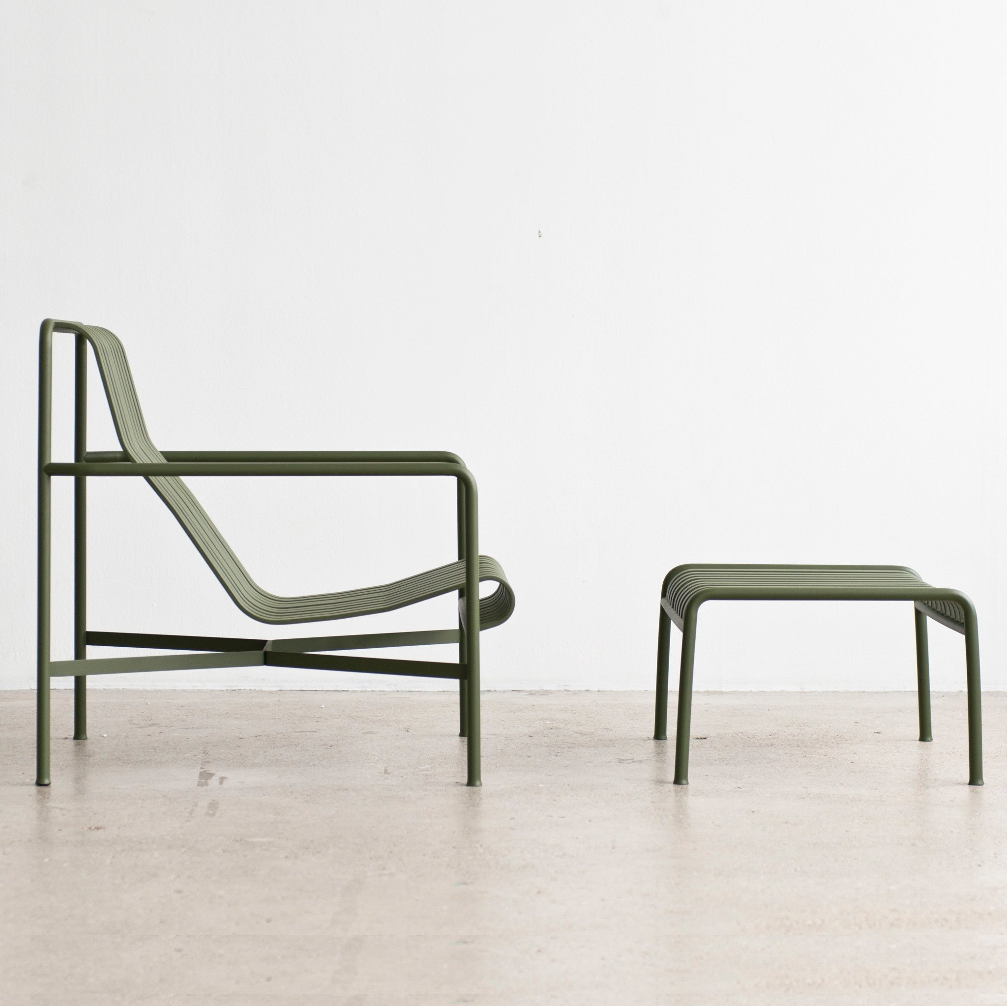 Hay Lounge Stoel.Palissade Lounge Chair High By Hay Haus