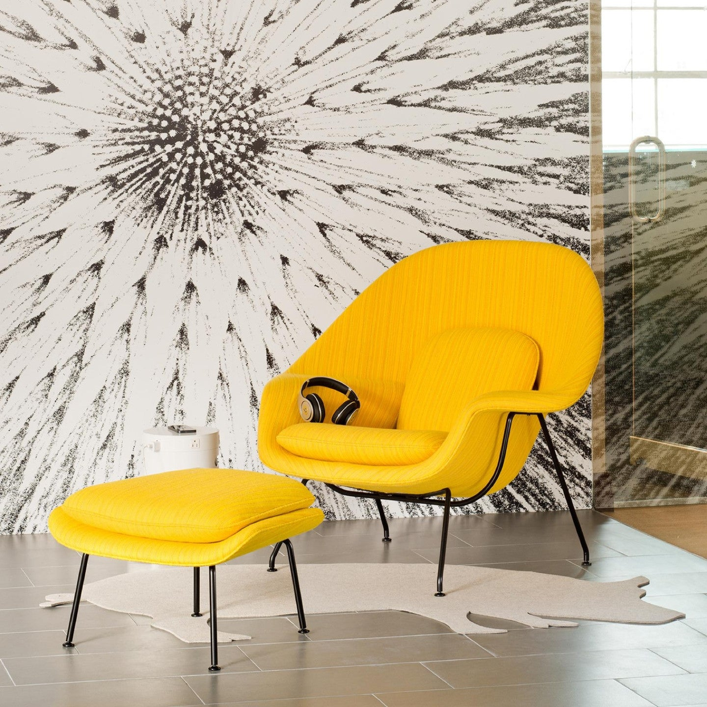 haus® - Womb Chair by Eero Saarinen - haus london Womb Chair by Eero Saarinen