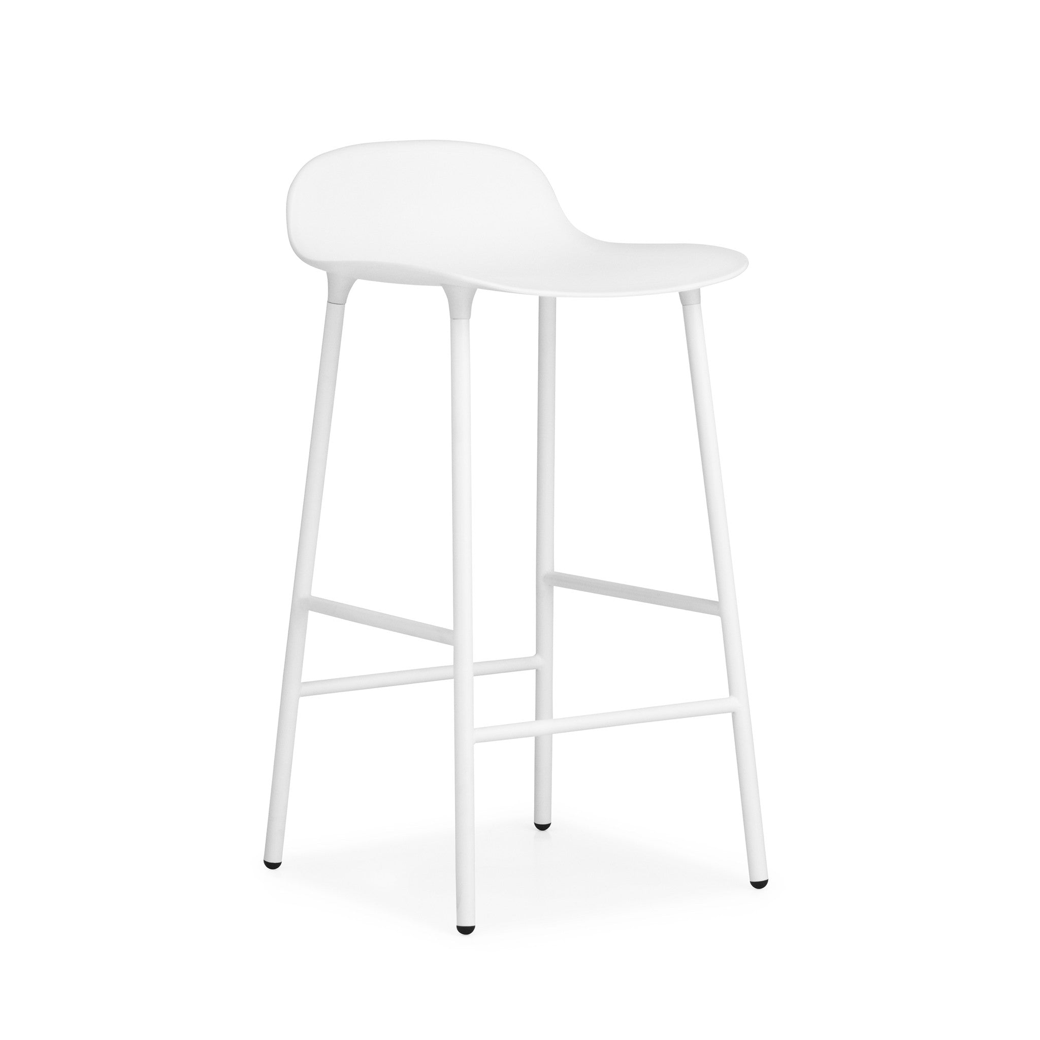 Form Bar Stool with Steel Base by Simon Legald — haus®