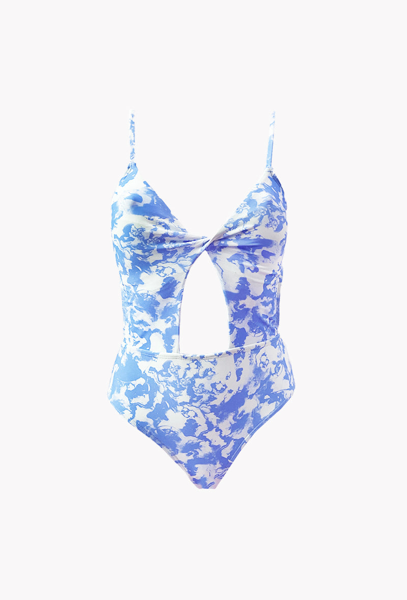Maillot 1 pièce Galaxy - Cloud - Aulala Swimwear