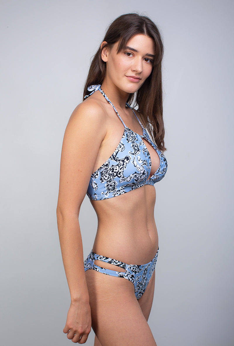 Maillot 2 pièce Flower -  Cherry Blossom - Aulala Swimwear