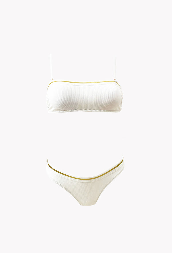 Maillot 2 pièces Gold - Glow - Aulala Swimwear