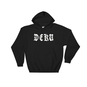 Deku Old English - Anime Hooded Sweatshirt