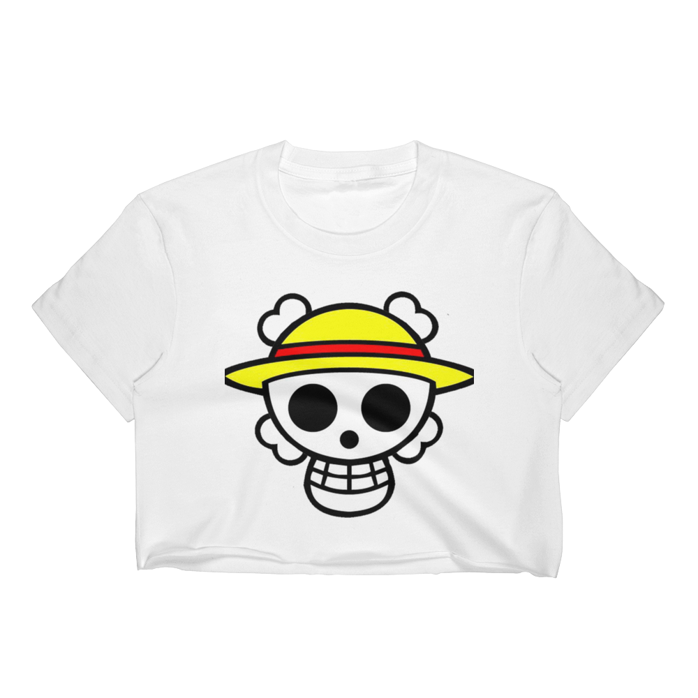 Pirate Crest - Anime Women's Crop Top