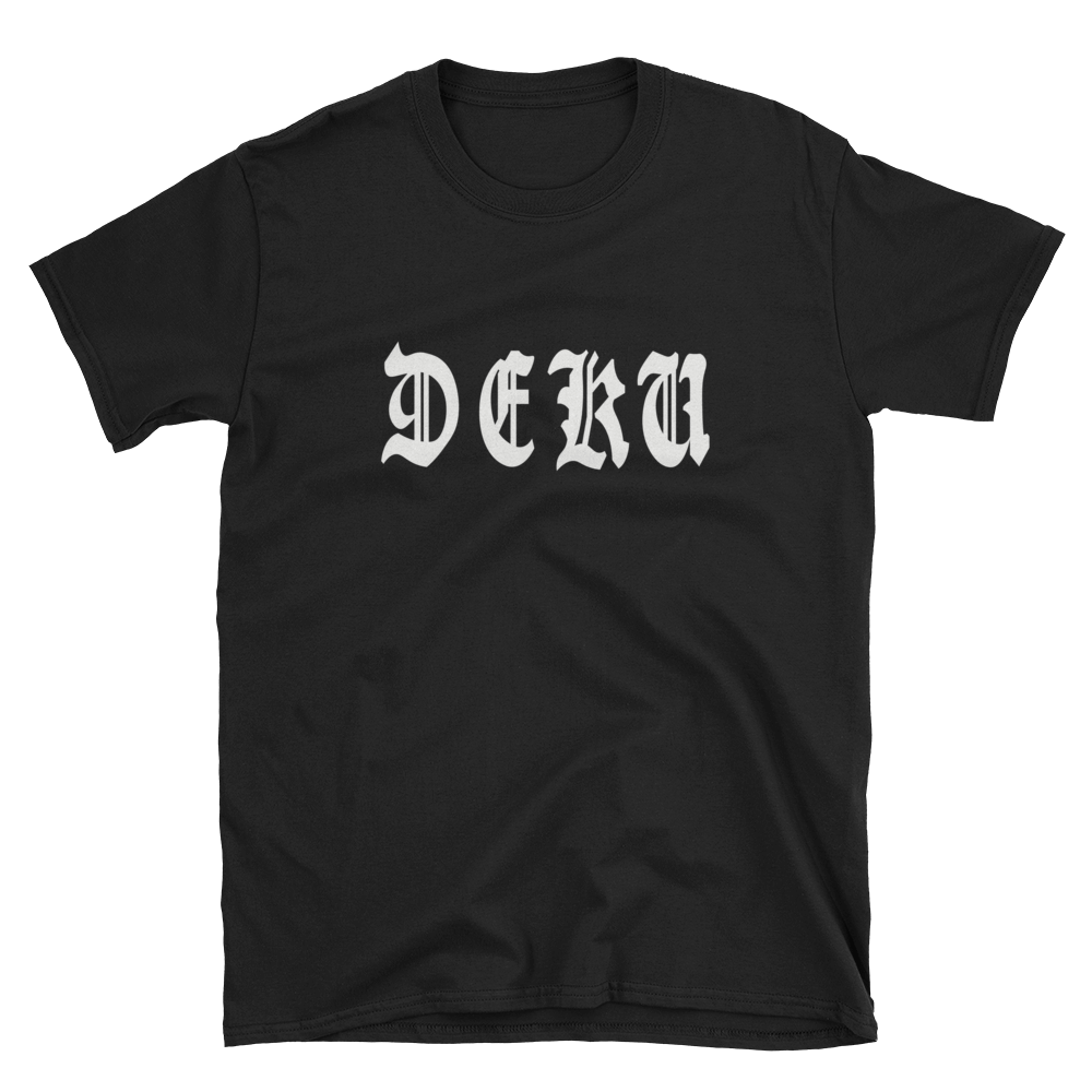 Deku Old English - Anime Short-Sleeve Unisex T-Shirt
