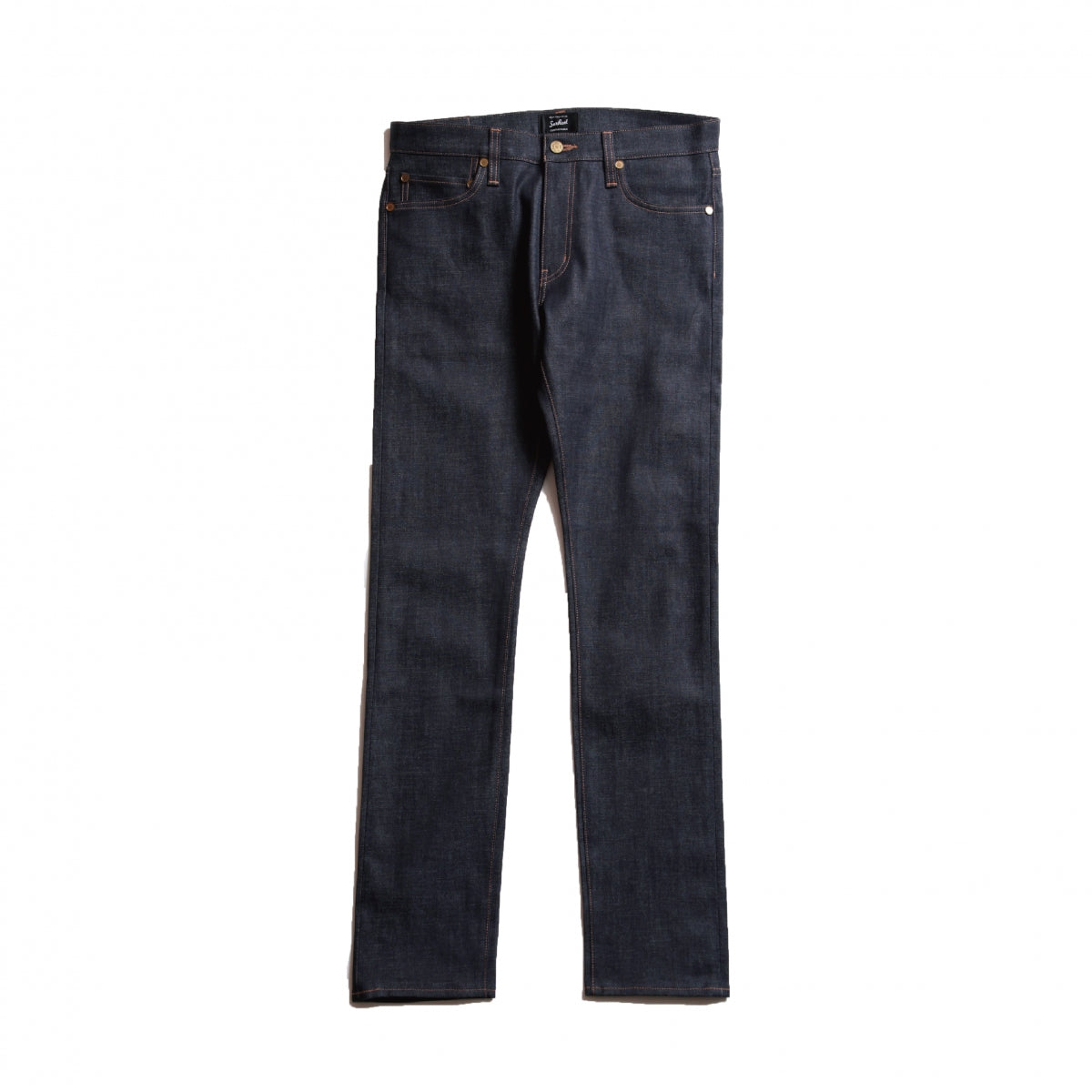 Trusk_Stretch Blend Selvedge Straight Denim