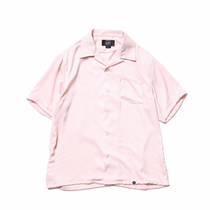 Benny_Satain Open Collar Shirt