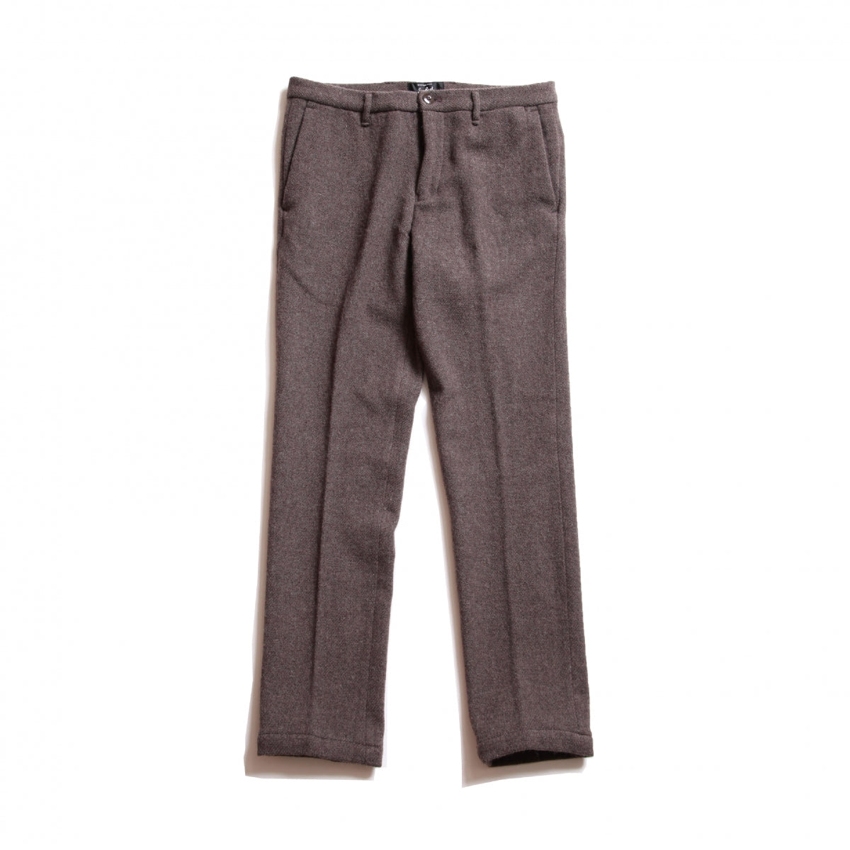 Ivan_Wool Straight Pants