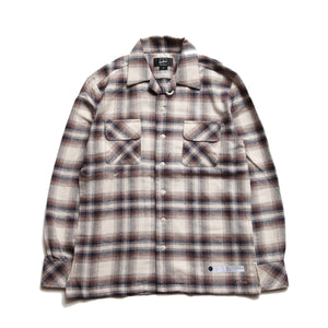 Grayson_Open Collar Check Shirt