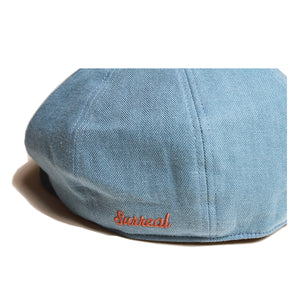 Nellie_Linen Mixed Newsboy Cap