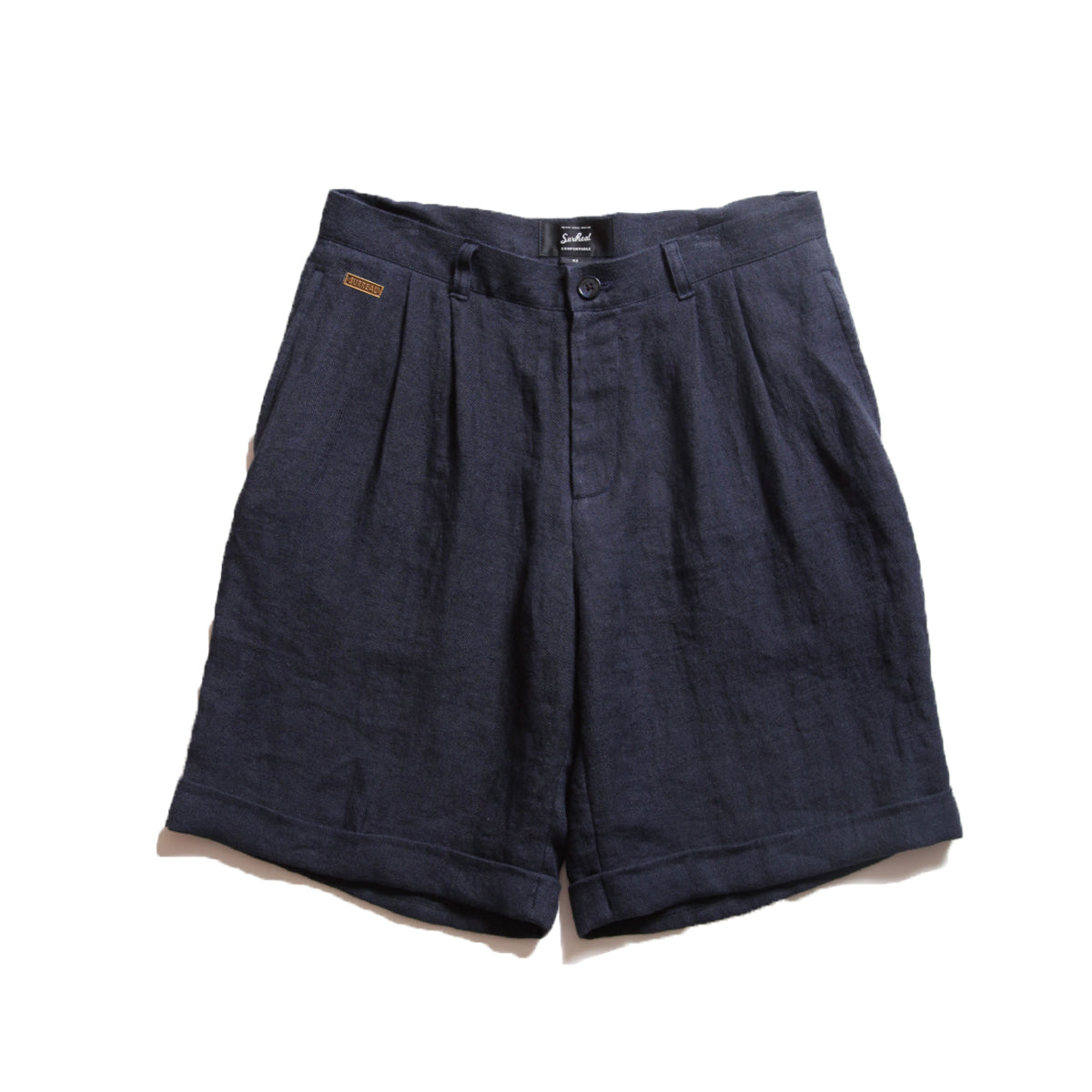 Jose_Linen 2-Tuck Shorts