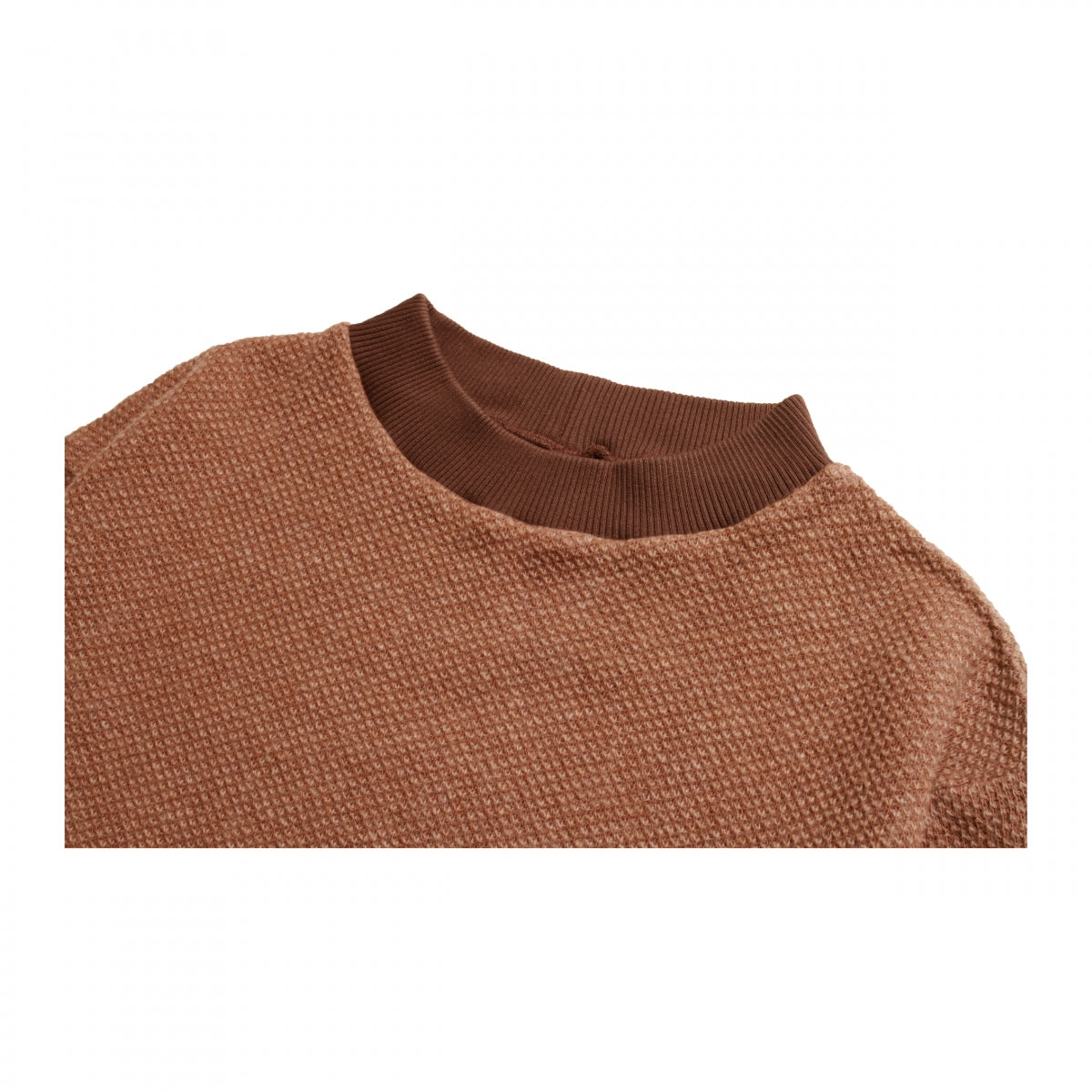 Axel_Tuck Double Face Moc-Neck Sweat Shirt