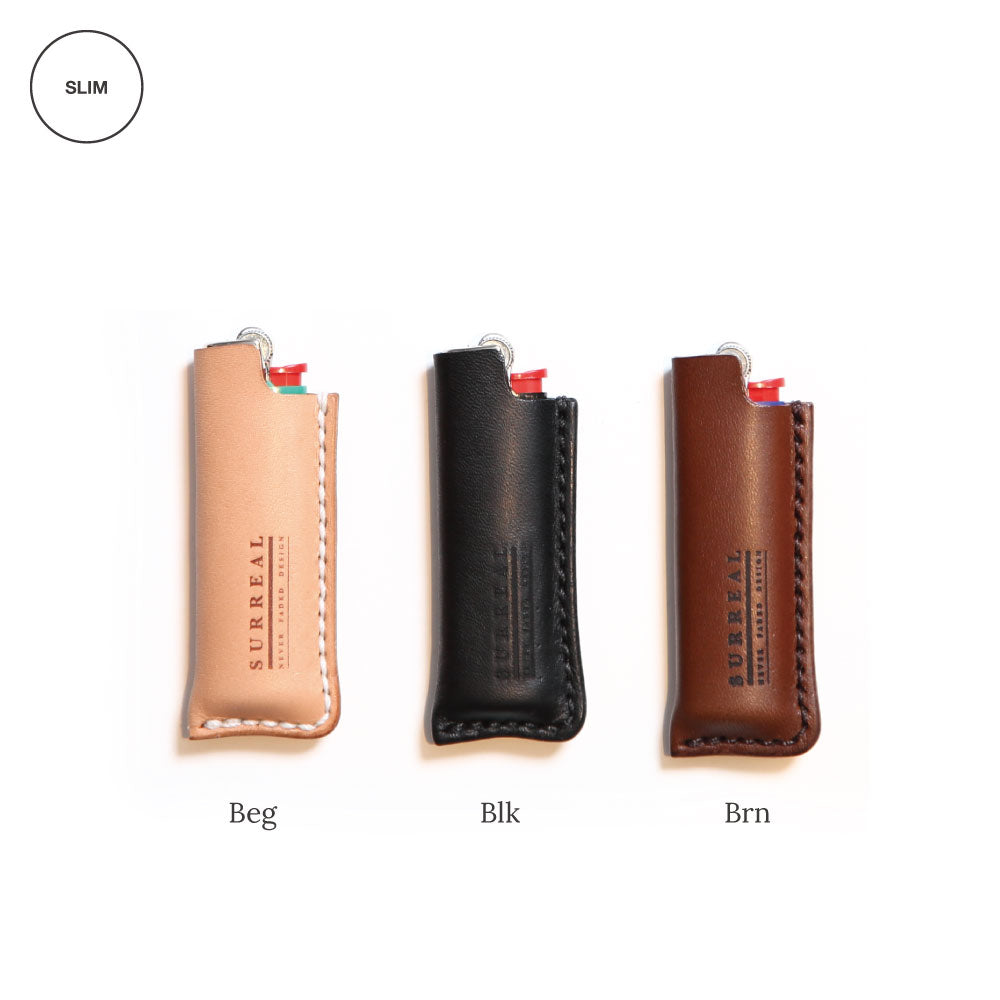 Occy(Slim)_Leather Lighter Case