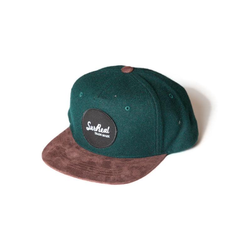 George_5 Panel Wool Cap