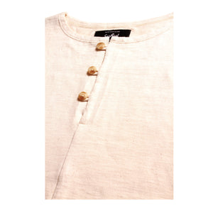 Alfie_Loop Wheel Henry Neck T-Shirt