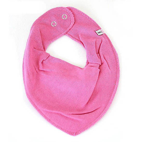 Bandans bib dark rose