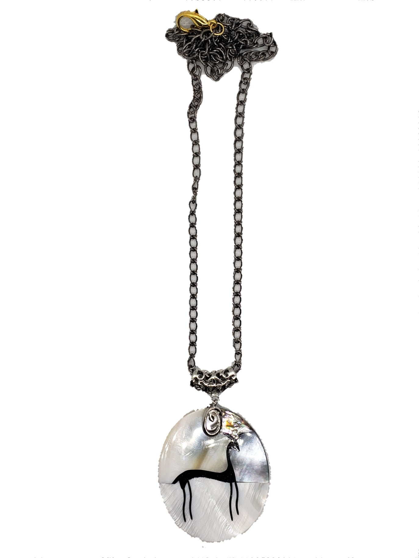 Shell Stone Necklace - The Bauble Shop