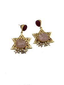 Star Drop Earrings - The Bauble Shop