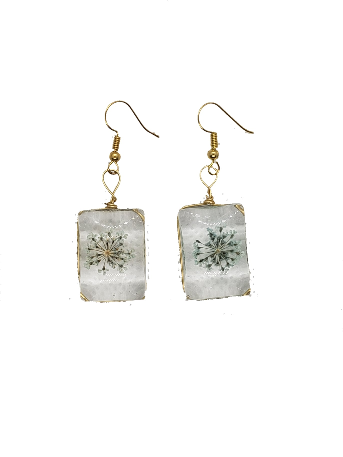 Glass stone earrings - The Bauble Shop