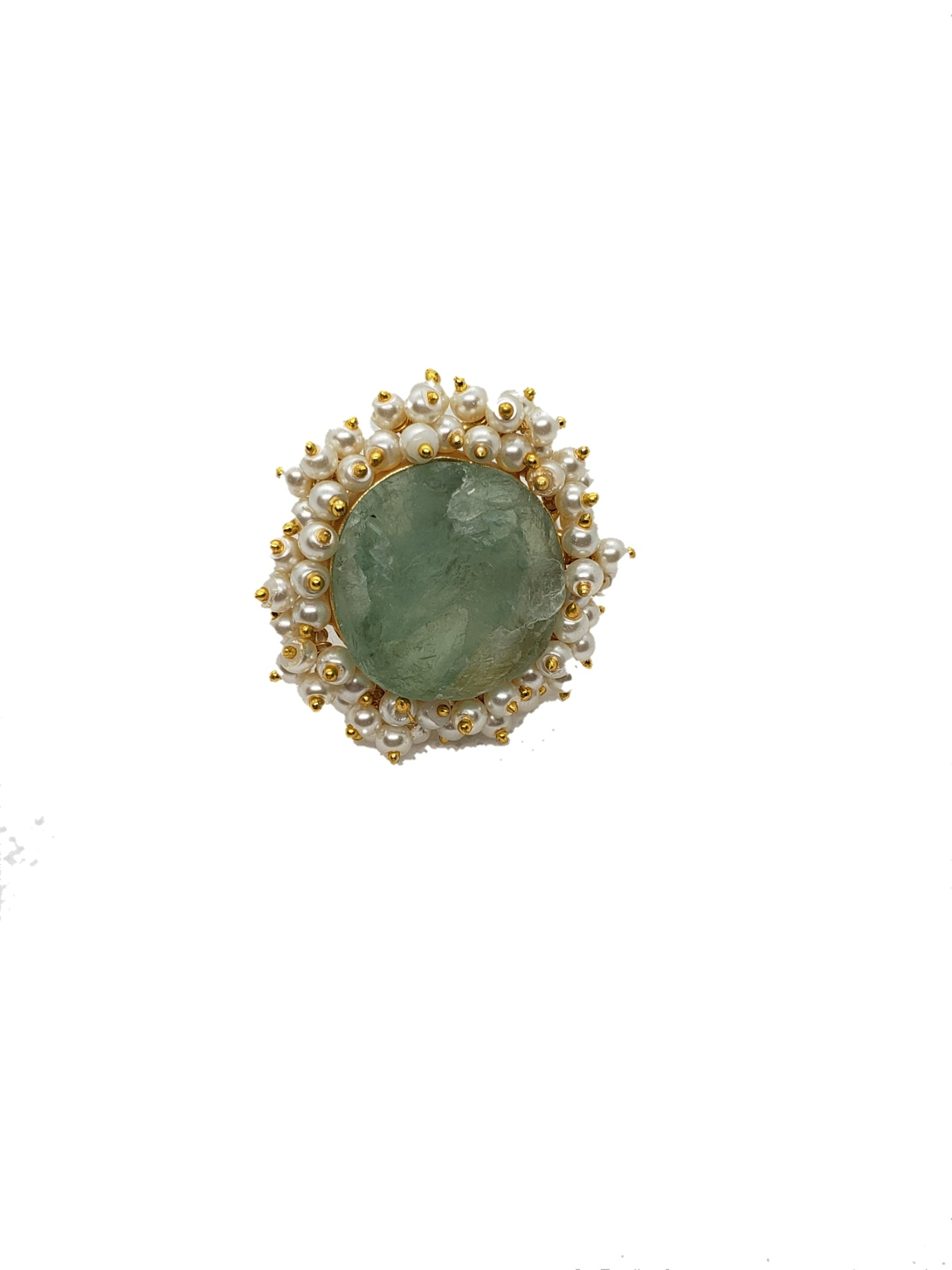 Fluorite Stone Ring - The Bauble Shop