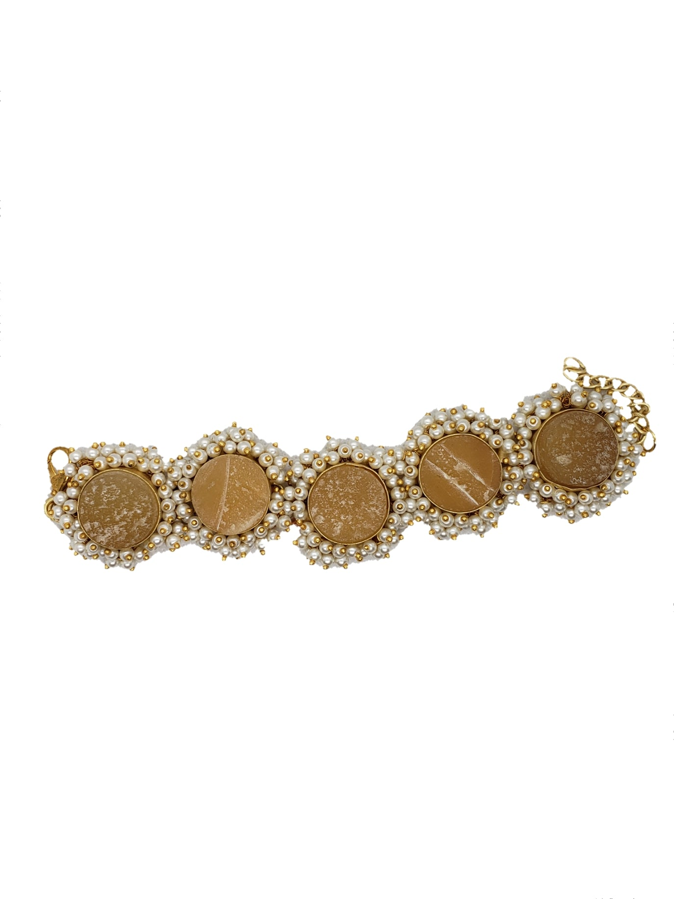Citrine Stone Bracelet - The Bauble Shop
