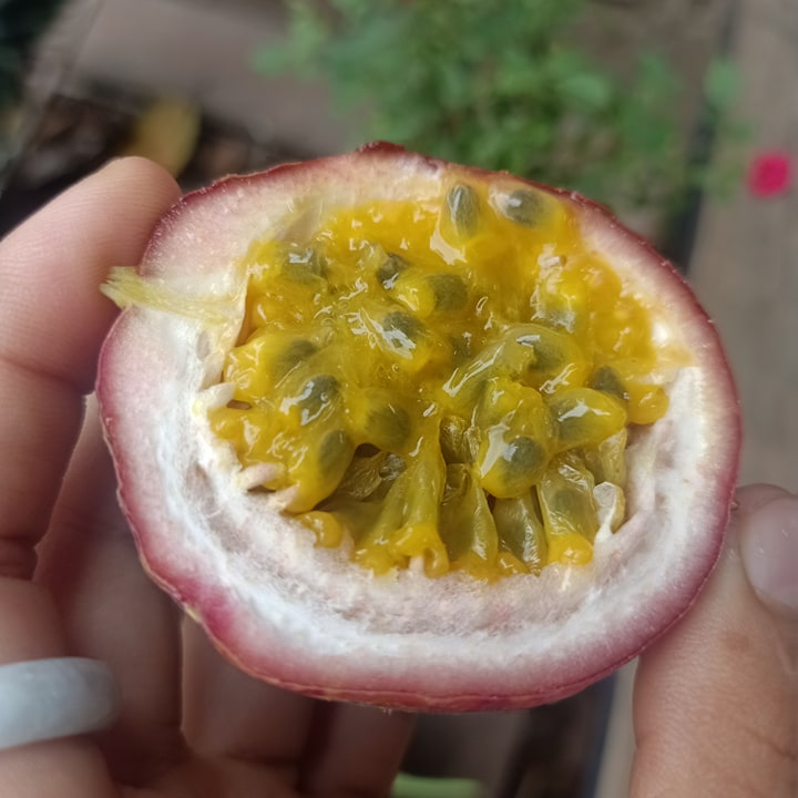 Passion Fruit ( 8 pcs )