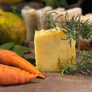 Carrot and Rosemary Body Bar