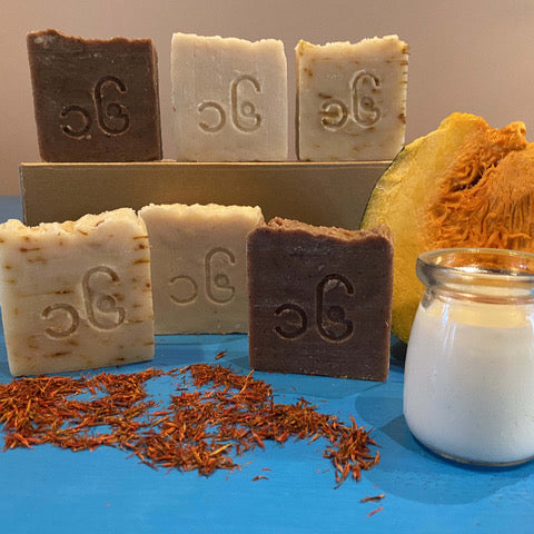 Fresh Goats' Milk Soap Set