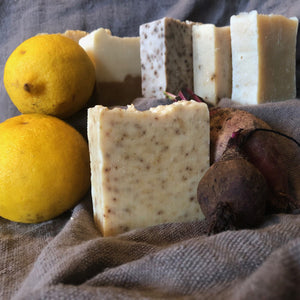 Lemon Zest and Kokkoya Beetroot Body Bar