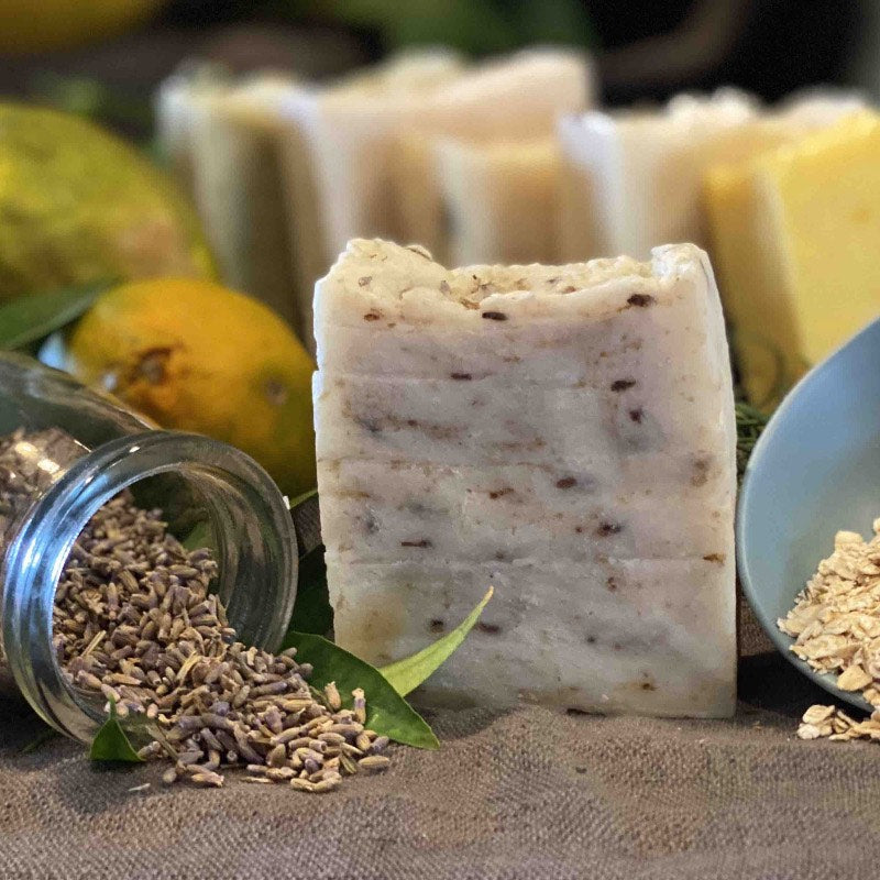 Oatmeal and Lavender Baby Soap