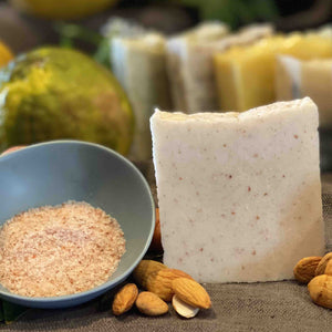 Salt, Orange and Almond Body Bar