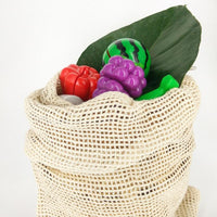 cotton net veggie bag zero waste large