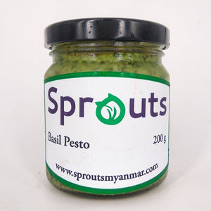 Load image into Gallery viewer, sprouts basil pesto yangon