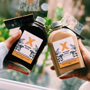 x cold brew coffee yangon
