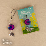 Halfmoon Betta Charms