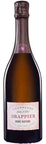 Champagne Drappier Brut Nature Rose Zero Dosage