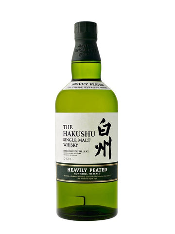 Suntory Hakushu Heavily Peated Single Malt 2012
