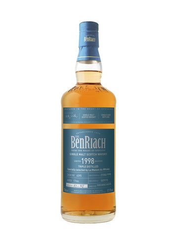 Benriach 1998 Triple Distilled 17 ans Single Cask Pedro Ximenez